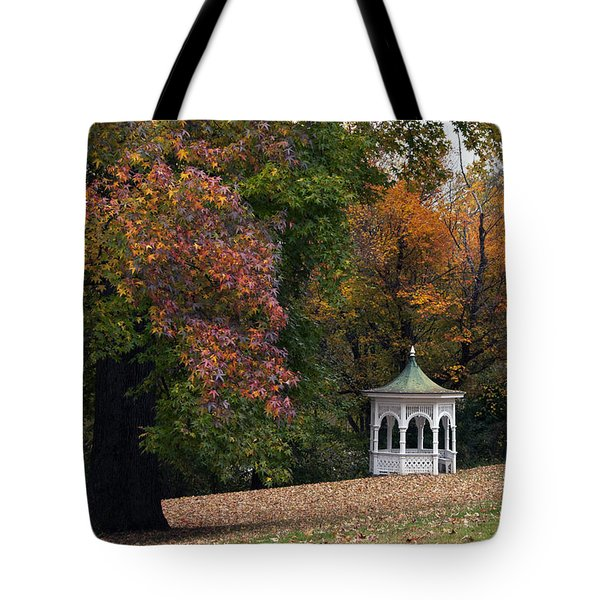Autumn Gazebo Tote Bag