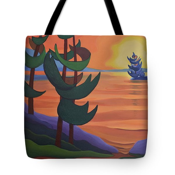 Autumn Glow Tote Bag