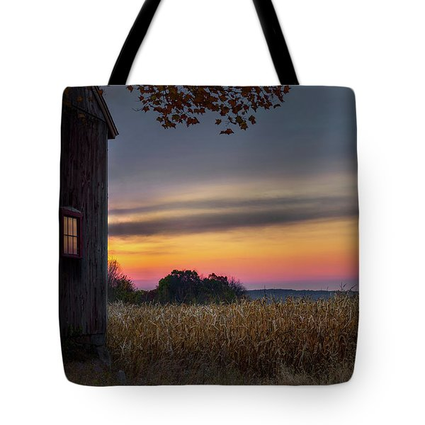 Tote Bag featuring the photograph Autumn Glow by Bill Wakeley
