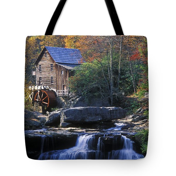 Autumn Grist Mill - Fs000141 Tote Bag