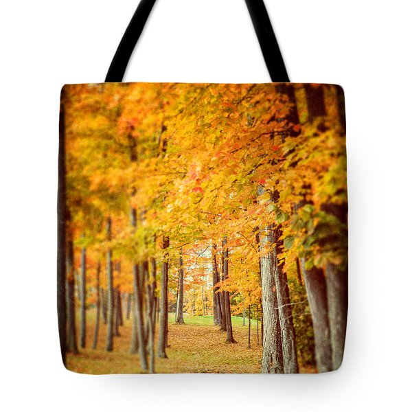 Autumn Grove  Tote Bag by Lisa Russo