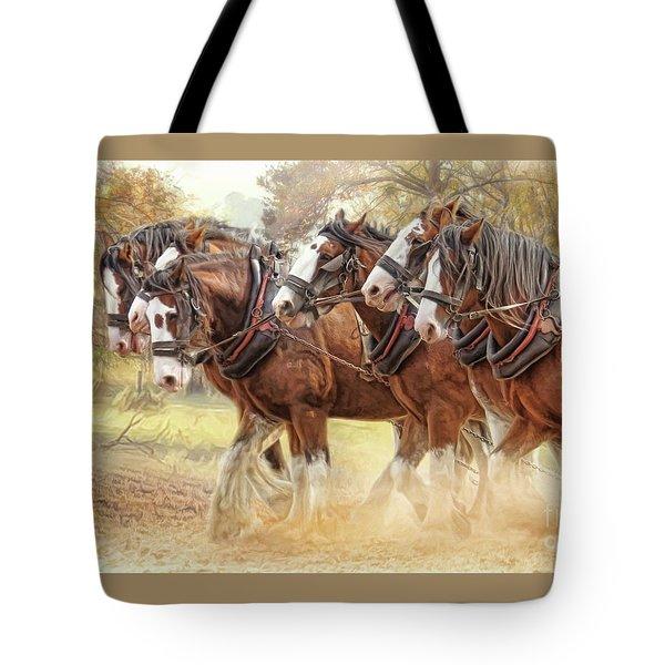 Autumn Harrow Tote Bag
