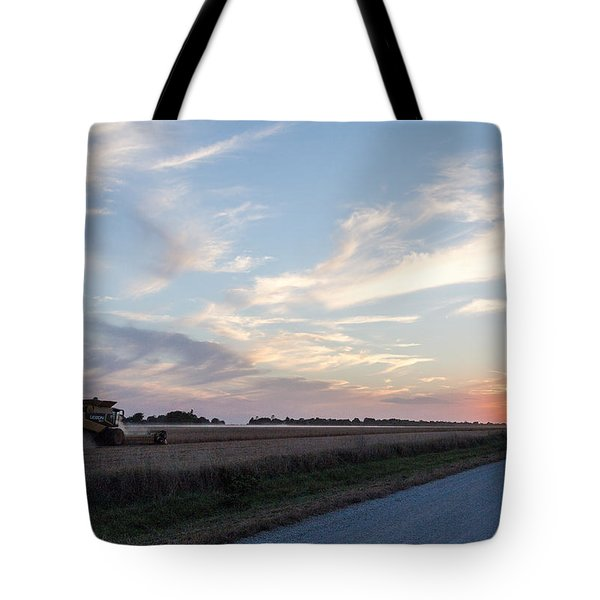 Autumn Harvest In Iowa Tote Bag
