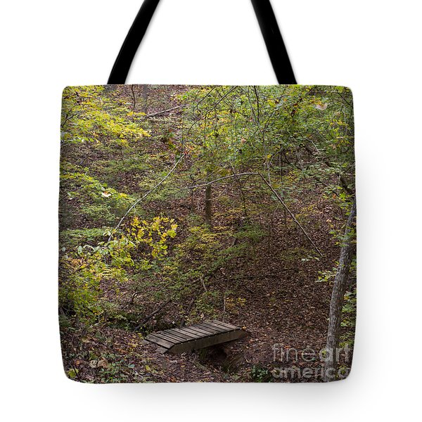 Autumn Hike Tote Bag by Kevin McCarthy