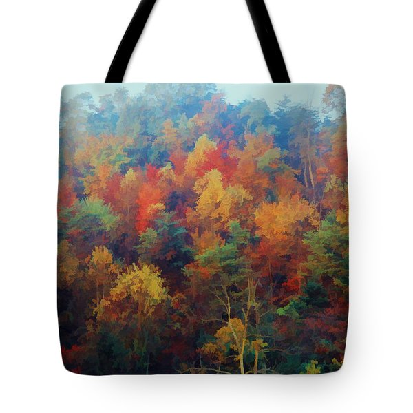 Autumn Hill Aglow Tote Bag