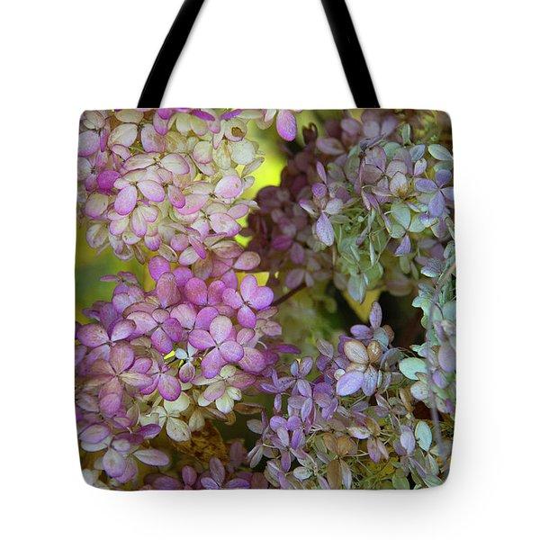 Autumn Hydrangea Tote Bag