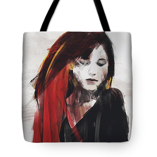 Tote Bag featuring the digital art Autumn Idyll by Galen Valle