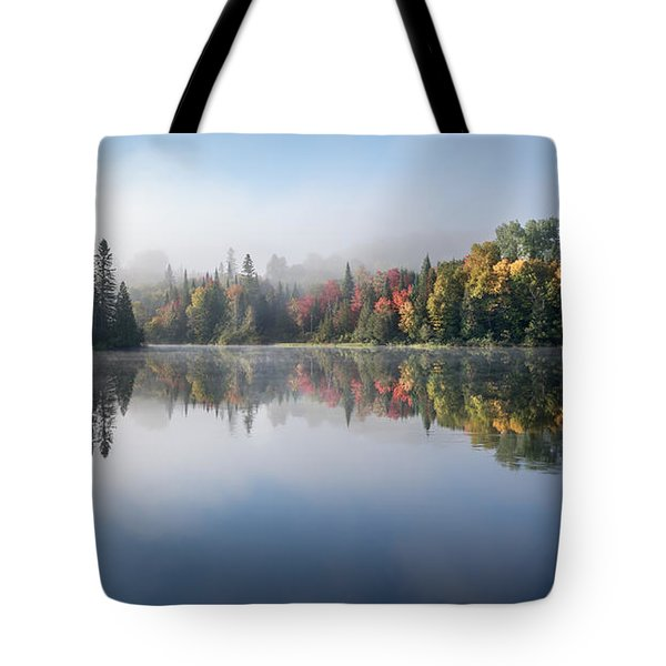 Tote Bag featuring the photograph Autumn Impression by Jola Martysz
