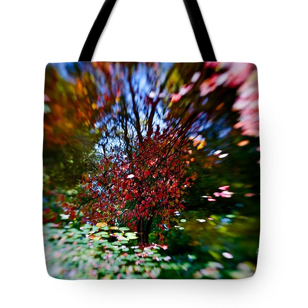 Autumn Impressions 2 Tote Bag by Venetta Archer