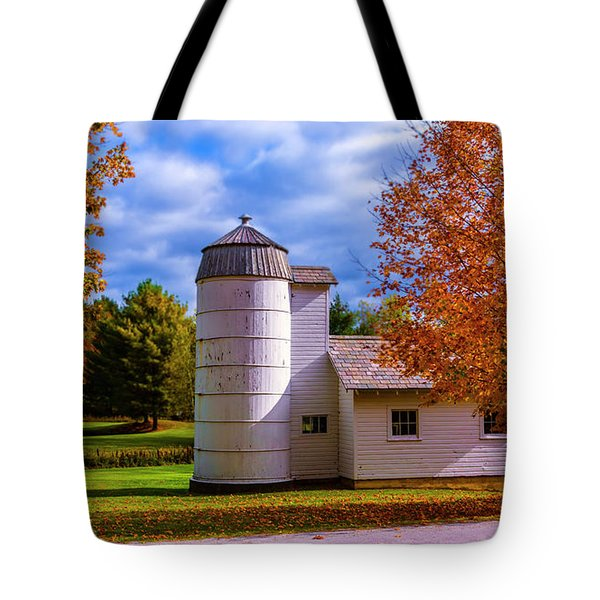 Autumn In Arlington Vermont Tote Bag