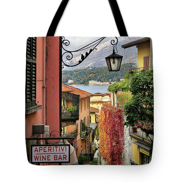 Autumn In Bellagio Tote Bag
