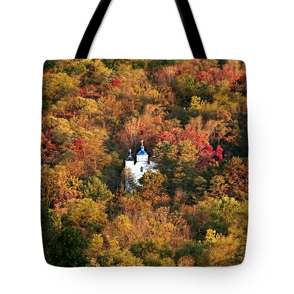 Autumn In Centralia Tote Bag