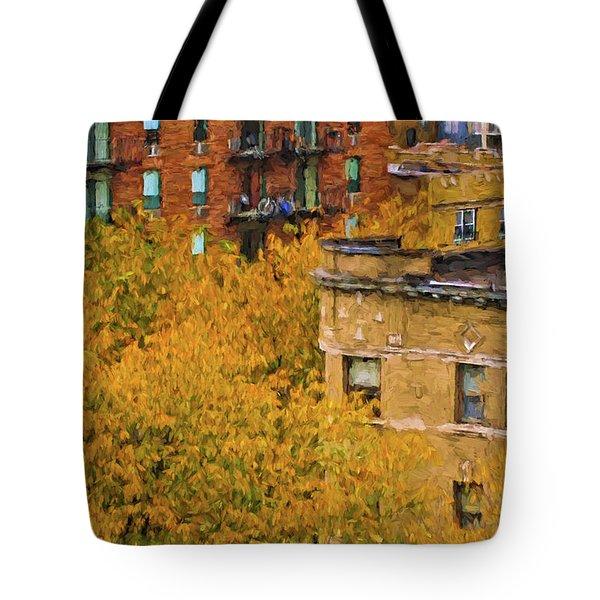 Autumn In Chicago Tote Bag