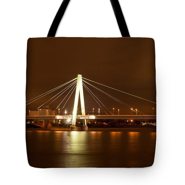 Autumn In Cologne Tote Bag
