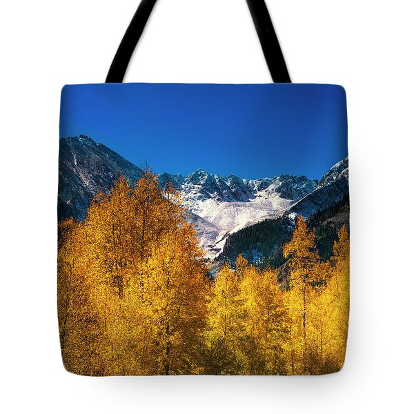 Autumn In Colorado Tote Bag