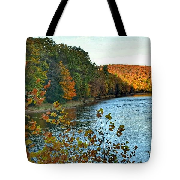 Autumn In Cook Forest Tote Bag