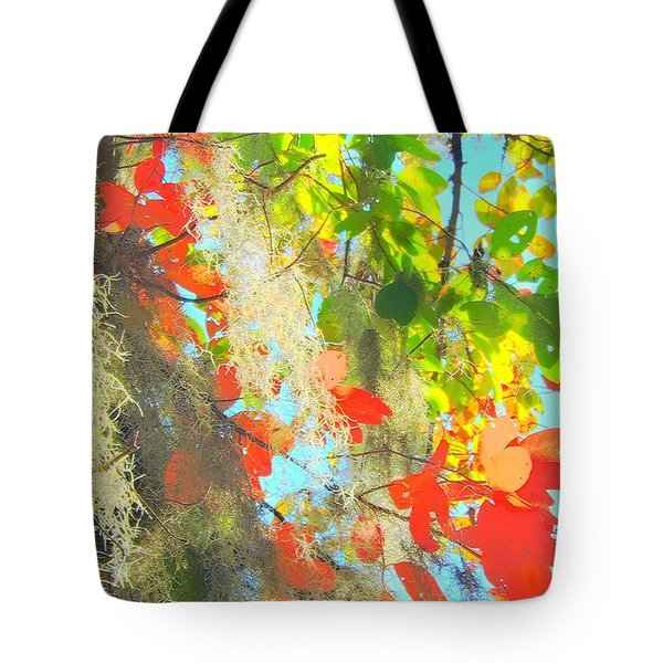 Autumn In Dixie  Tote Bag