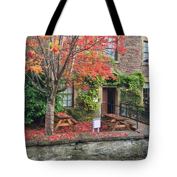 Autumn In Dunblane Tote Bag