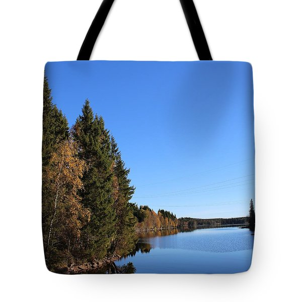 Autumn In Europe  Tote Bag