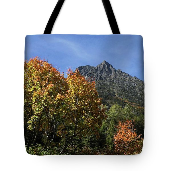 Autumn In Glacier Tote Bag