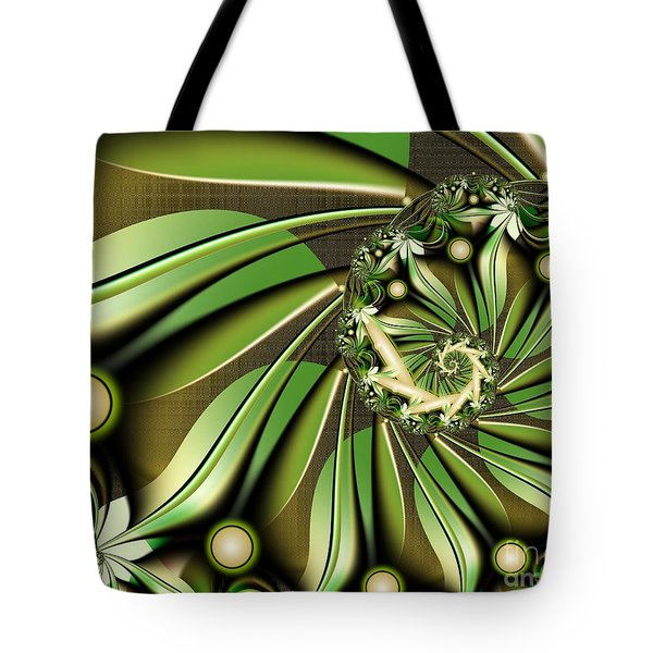 Tote Bag featuring the digital art Autumn In Hawaii by Michelle H