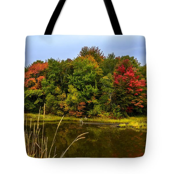 Autumn In Mabou Tote Bag