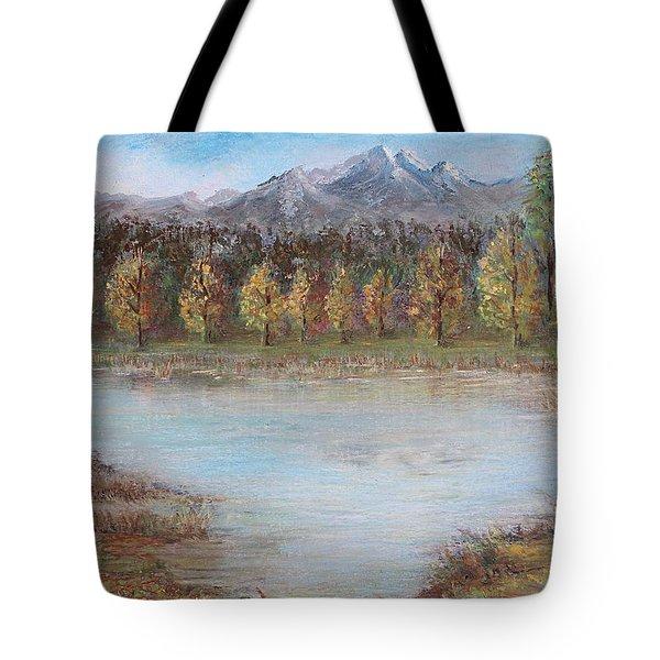 Autumn In Maule Tote Bag