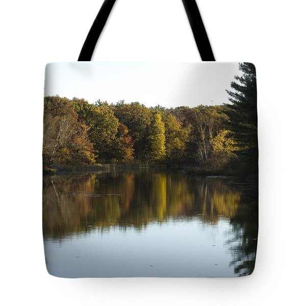 Autumn In Mears Michigan Tote Bag