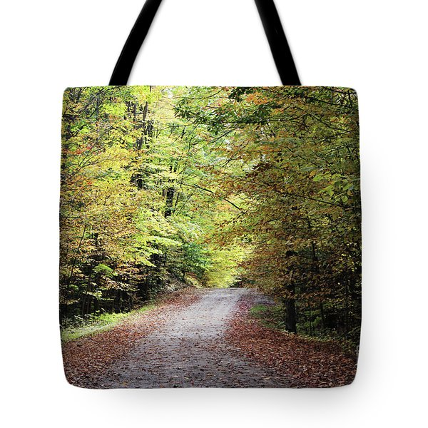 Autumn In Michigan Tote Bag