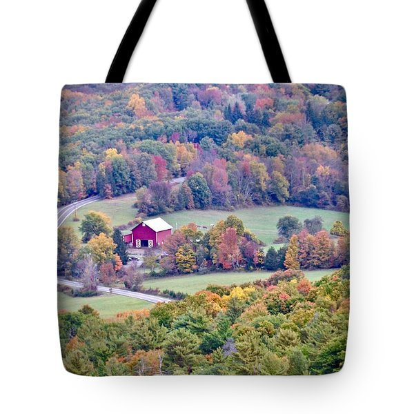 Autumn View, Mohonk Preserve Tote Bag
