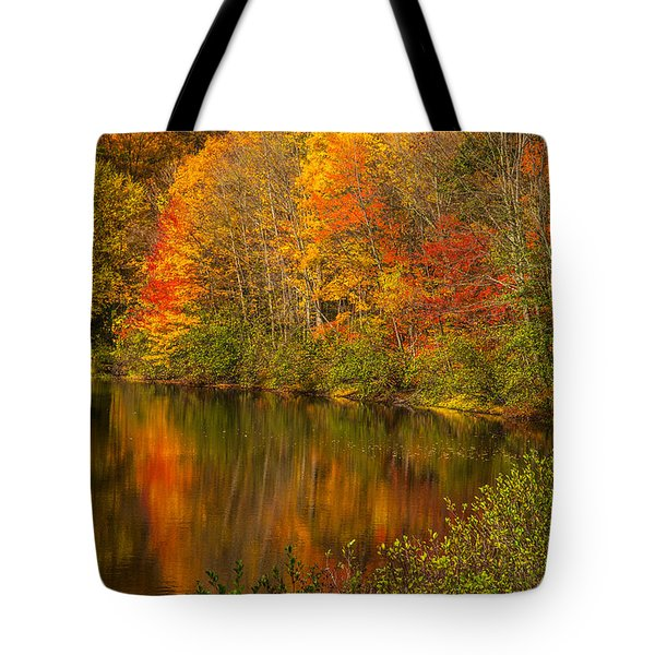 Autumn In Monroe Tote Bag