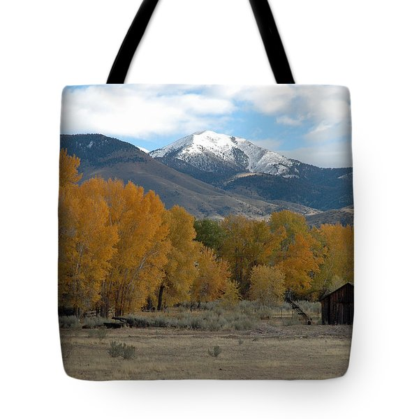 Autumn In Montana's Madison Valley Tote Bag