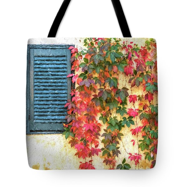 Autumn In Napa Tote Bag