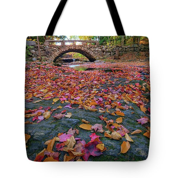 Autumn In New England Tote Bag by Rick Berk