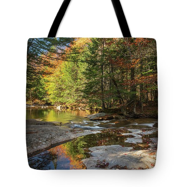 Autumn In New Hampshire Tote Bag