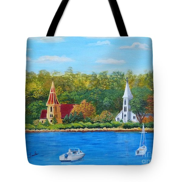 Autumn In Nova Scotia Tote Bag
