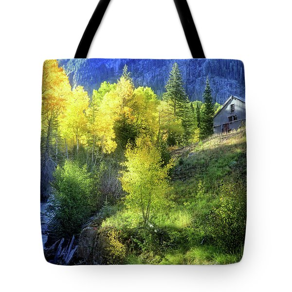 Autumn In Ophir - Colorado - Aspens Tote Bag by Jason Politte