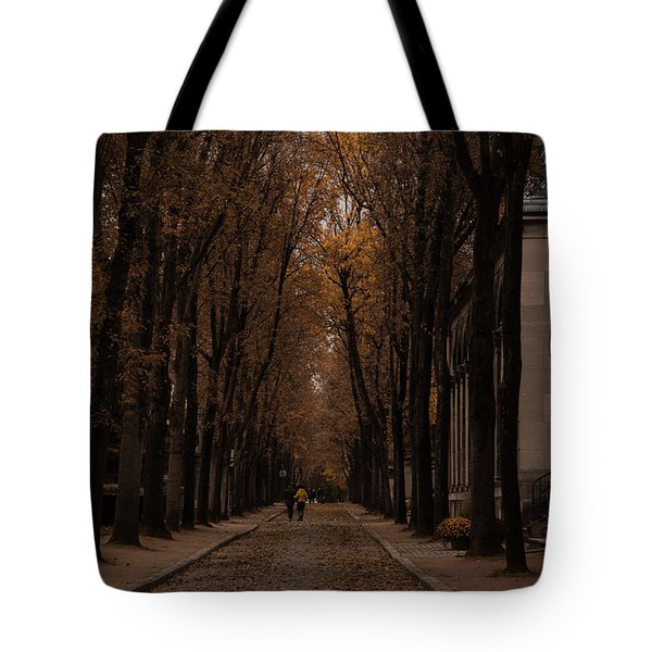 Autumn In Paris 1 Tote Bag