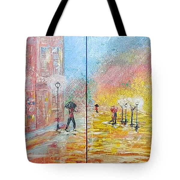 Autumn In Paris Tote Bag by Judi Goodwin