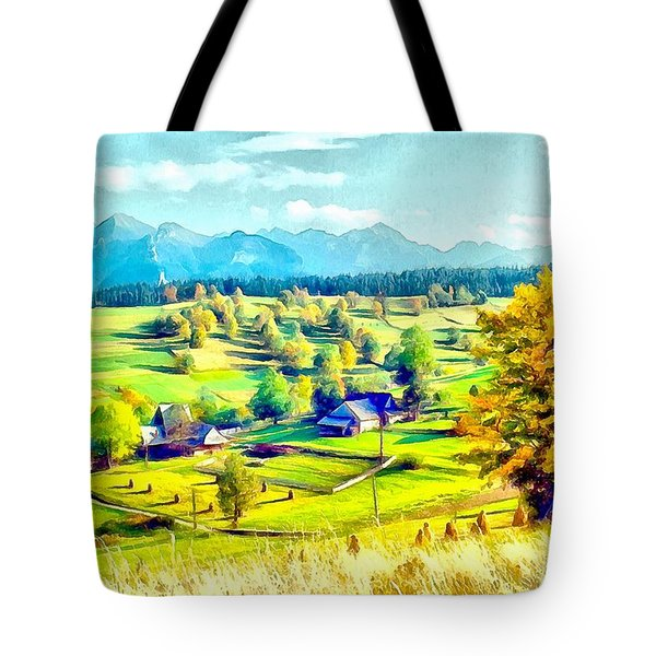 Autumn In Poland Tote Bag