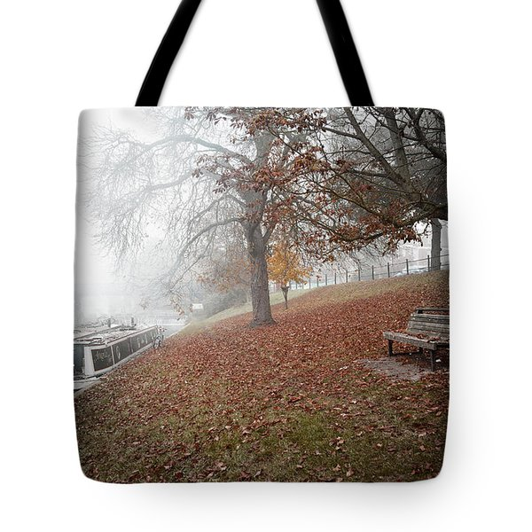 Autumn In River Cam Tote Bag