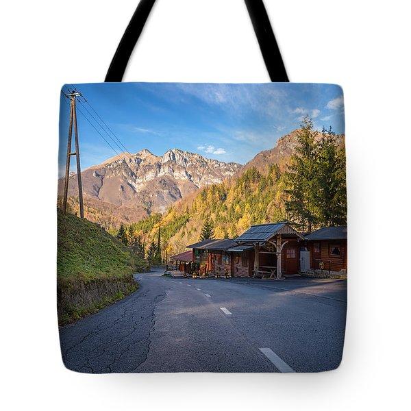 Autumn In Slovenia Tote Bag