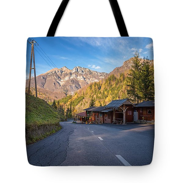 Autumn In Slovenia Tote Bag
