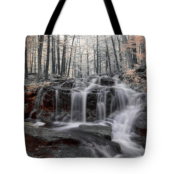 Autumn In Spring Infrared Tote Bag