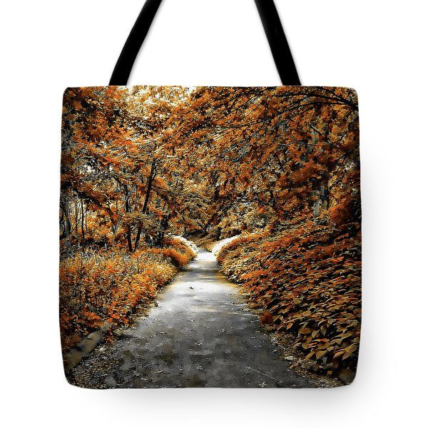 Autumn In Stamford Tote Bag