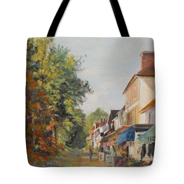 Autumn In Tenterden Kent Tote Bag