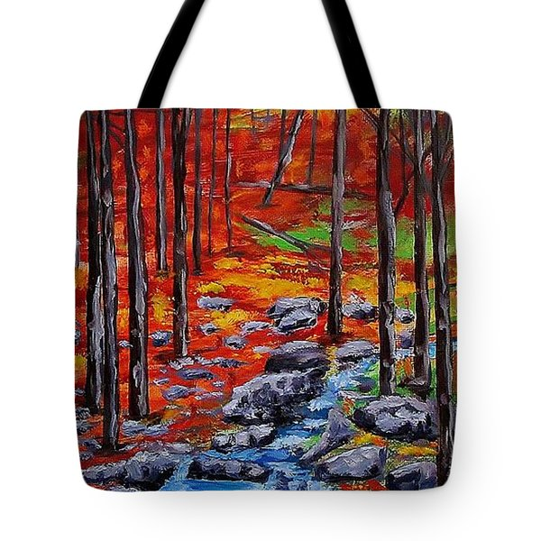 Autumn In The Air 2 Tote Bag