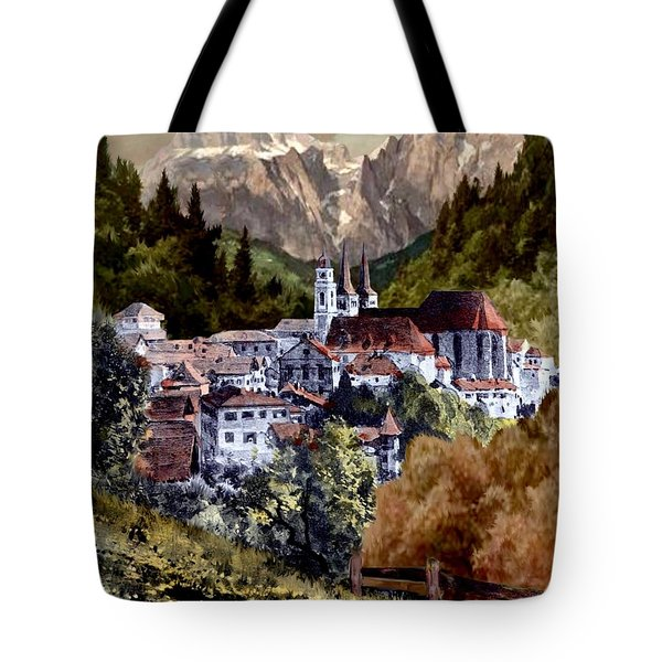 Autumn In The Alps Tote Bag
