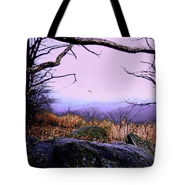 Autumn In The Blue Ridge Mountains Of Virginia Tote Bag