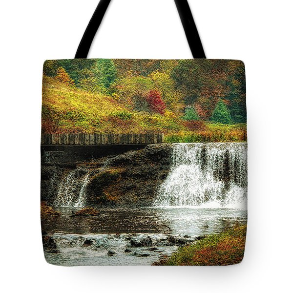 Autumn In The Blue Ridge Mountains Tote Bag